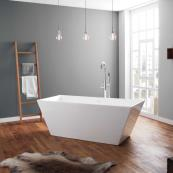 April Airton Freestanding Bath White 1650 x 650mm