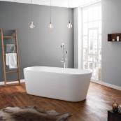 April Brearton Freestanding Bath White 1500 x 700mm