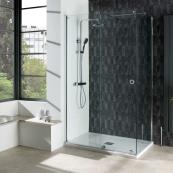 Aquadart Rolla 8 Sliding Wetroom 1100mm