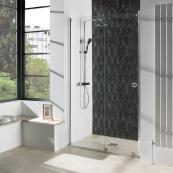 Aquadart Rolla 8 Recess Wetroom Door 1600mm