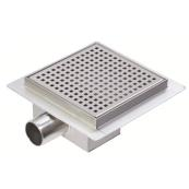 Square Stainless Steel Shower Drainage Channel 150 x 150mm