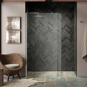 Kudos Ultimate 2 8mm Walk In Wetroom Panel 400mm