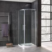 Oceana Emerald 8mm Quadrant Door 900mm