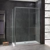 Oceana Emerald 8mm Sliding Door 1400mm