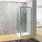 Oceana Platinum 8mm Side Panel 700mm with Crystal Clear Glass