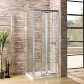 Oceana Crystal 6mm Side Panel 900mm with Crystal Clear Glass