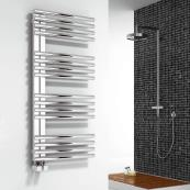 Adora Designer Towel Radiator Polished Stainless Steel 500 x 1106mm