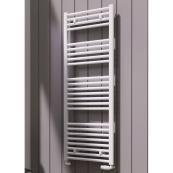 Diva Flat Designer Towel Radiator White 500 x 1800mm