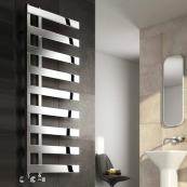 Capelli Designer Towel Radiator Polished Stainless Steel 500 x 1235mm