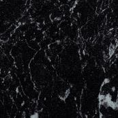 Showerwall Square Edge Bathroom Cladding Black Marble 2440 x 900 x 10.5mm