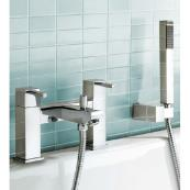 Usk Bath Shower Mixer Chrome