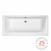 Elite Double Ended Bath 1700 x 750mm