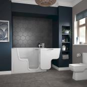 Bathe Easy Serenity Walk In Bath 1300 x 750mm Right Hand