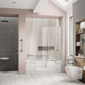Bathe Easy Style Walk In Bath 1700 x 750mm Left Hand